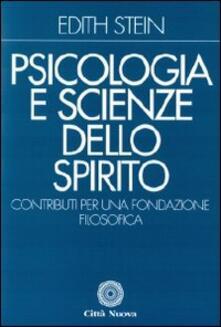 Psicologia e scienze dello Spirito. Contributi per una fondazione filosofica.pdf
