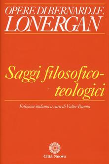 Saggi filosofico-teologici.pdf