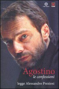 Foto Cover di Le confessioni lette da Alessandro Preziosi. Audiolibro. Con CD Audio, Libro di Agostino (sant'), edito da Città Nuova