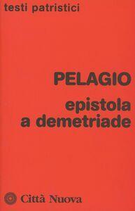 Libro Epistola a Demetriade Pelagio