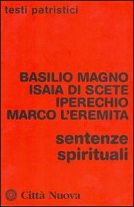 Libro Sentenze spirituali