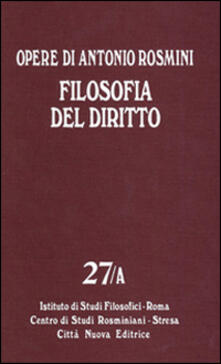 Warholgenova.it Opere. Vol. 27: Filosofia del diritto. Image