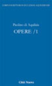 Libro Opere. Vol. 10\1 Paolino di Aquileia