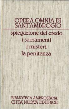 Antondemarirreguera.es Opera omnia. Vol. 17: Spiegazione del Credo-I sacramenti-I misteri-La penitenza. Image