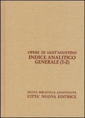 Indice analitico generale. Vol. 5: T-Z.