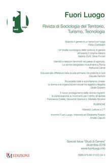 Daddyswing.es Fuori luogo. Rivista di sociologia del territorio, turismo, tecnologia. Special Issue «Studi di genere» (2018) Image