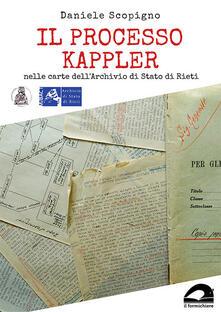 Ipabsantonioabatetrino.it Il processo Kappler nelle carte dell'Archivio di Stato di Rieti Image