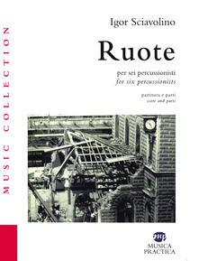 Festivalpatudocanario.es Ruote per sei percussionisti. Partiture e spartiti-Ruote for six percussionists. Score and parts Image