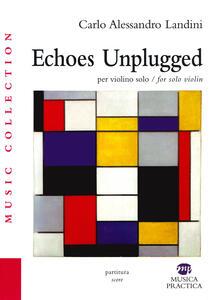 Aboutschuster.de Echoes unplugged. Per violino solo. Ediz. italiana e inglese Image