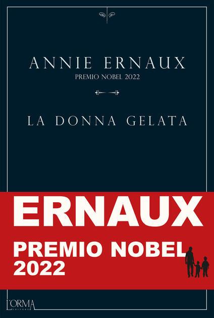 La donna gelata - Annie Ernaux - copertina