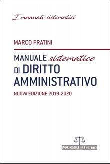 3tsportingclub.it Manuale sistematico di diritto amministrativo Image