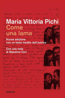 Come una lama - M. Vittoria Pichi - ebook