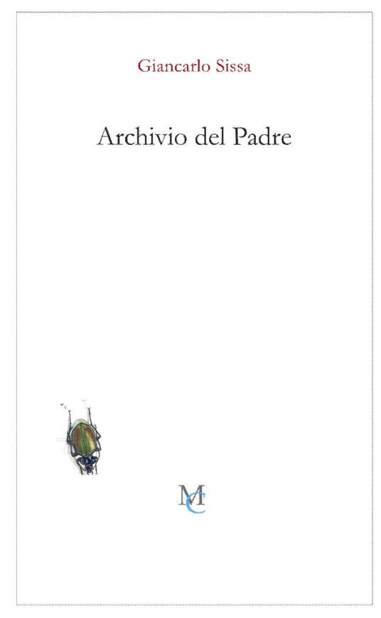 Archivio del padre - Giancarlo Sissa - copertina