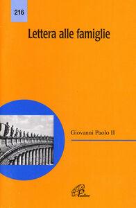 Libro Lettera alle famiglie Giovanni Paolo II