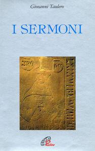 Foto Cover di I sermoni, Libro di Giovanni Taulero, edito da Paoline Editoriale Libri