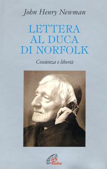 Voluntariadobaleares2014.es Lettera al duca di Norfolk. Coscienza e libertà Image