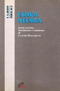 Libro Esdra-Neemia Claudio Balzaretti