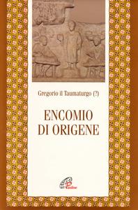 Libro Encomio di Origene Gregorio il Taumaturgo