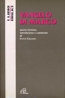 Radiospeed.it Vangelo di Marco. Nuova versione, introduzione e commento Image