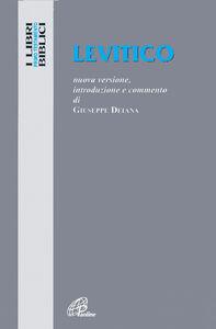 Libro Levitico. Nuova versione, introduzione e commento