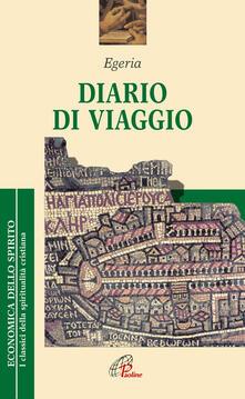 Diario di viaggio - Egeria - copertina