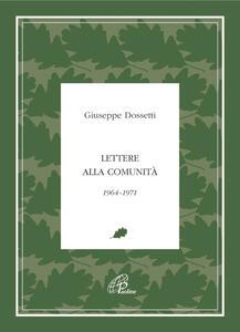 Lettere alla comunità 1964-1971
