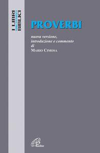 Foto Cover di Proverbi, Libro di Mario Cimosa, edito da Paoline Editoriale Libri