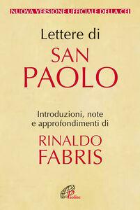 Foto Cover di Lettere di San Paolo, Libro di  edito da Paoline Editoriale Libri
