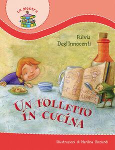 Libro Un folletto in cucina Fulvia Degl'Innocenti