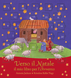 Foto Cover di Verso il Natale. Il mio libro per l'avvento, Libro di Antonia Jackson, edito da Paoline Editoriale Libri