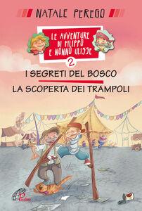 Libro I segreti del bosco e la scoperta dei trampoli. Le avventure di Filippo e nonno Ulisse. Vol. 2 Natale Perego