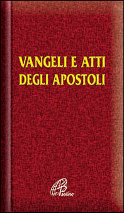 Libro Vangelo e Atti degli Apostoli