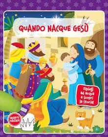 Voluntariadobaleares2014.es Quando nacque Gesù. Dipingi ad acqua e scopri la storia. Ediz. a colori Image