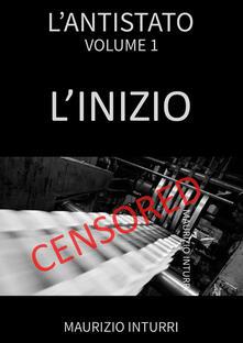 L' antistato - Maurizio Inturri - copertina