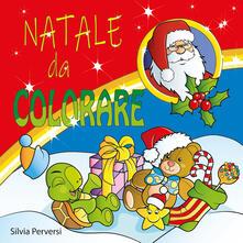 Natale da colorare. Ediz. illustrata - copertina