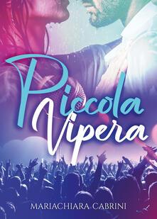 Piccola vipera - Mariachiara Cabrini - copertina