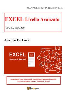 Excel. Livello avanzato. Analisi dei dati.pdf