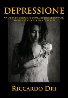 Depressione - Riccardo Dri - copertina