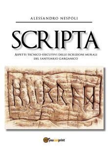 Winniearcher.com Scripta. Aspetti tecnico-esecutivi delle iscrizioni murali del santuario garganico Image