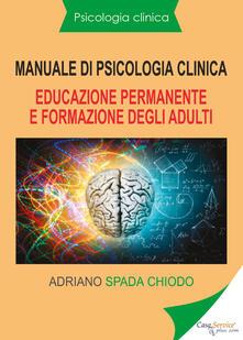 Antondemarirreguera.es Manuale di psicologia clinica. Educazione permanente e formazione degli adulti Image
