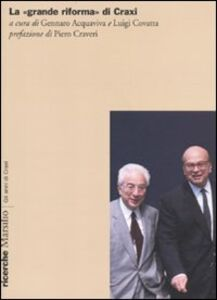 Libro La «grande riforma» di Craxi