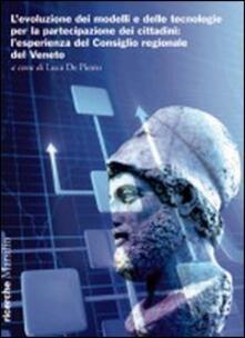 Equilibrifestival.it L' evoluzione dei modelli e delle tecnologie per la partecipazione dei cittadini. L'esperienza del Consiglio regionale del Veneto Image