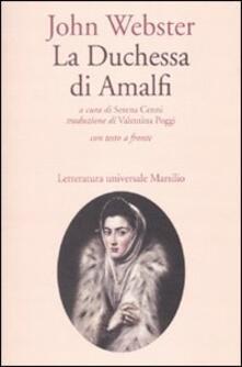 Radiospeed.it La duchessa di Amalfi. Testo inglese a fronte Image