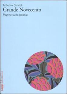Grande Novecento. Pagine sulla poesia.pdf