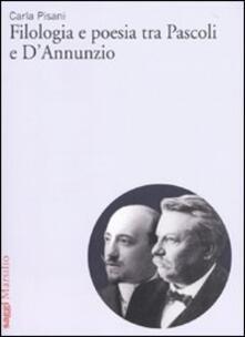 Camfeed.it Filologia e poesia tra Pascoli e D'Annunzio Image