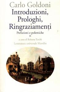 Libro Introduzioni, prologhi, ringraziamenti. Prefazioni e polemiche. Vol. 2 Carlo Goldoni