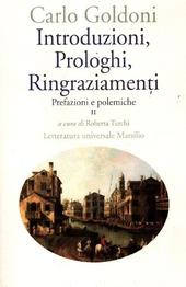 Introduzioni, prologhi, ringraziamenti. Prefazioni e polemiche. Vol. 2