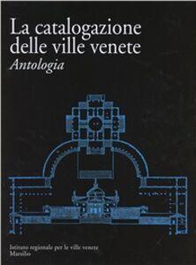 Libro Ville venete. Catalogo generale. Appendice