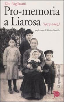 Osteriacasadimare.it Pro-memoria a Liarosa (1979-2009) Image
