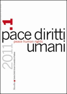 Libro Pace diritti umani-Peace human rights (2011). Vol. 1